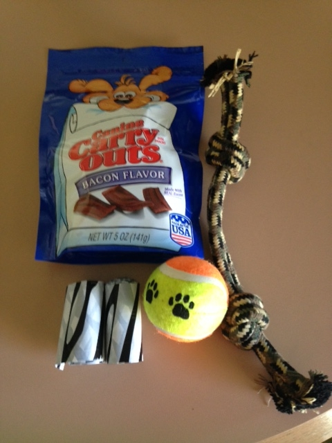 dog goody bag